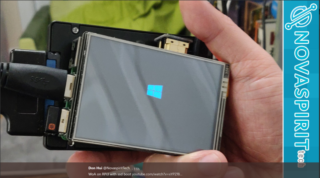 pi64 win – The Full Windows 10 Experience inside your Raspberry Pi